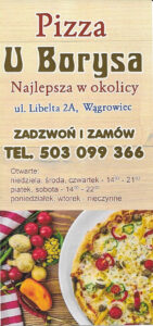 Pizza U Borysa - Menu 01