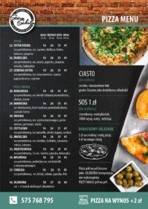 Pizzeria Stara szkoła menu 01