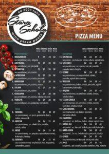 Pizzeria Stara szkoła menu 02